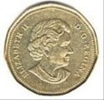 канадский цент 100p
