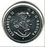 канадский цент 10p
