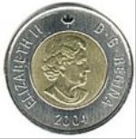 канадский цент 200p