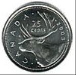 канадский цент 25a