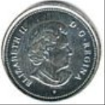 канадский цент 2p