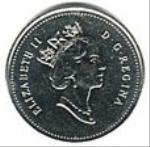 канадский цент 50p