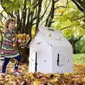 Картонный игровой домик для детей