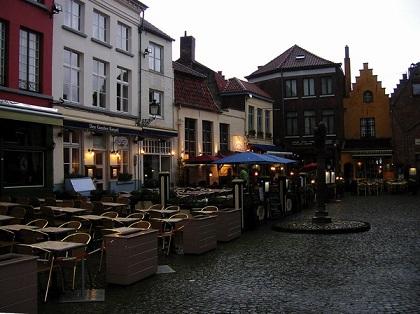 кафе и рестораны в Бельгии процветают