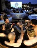 Кинотеатр + ванна – необычная идея