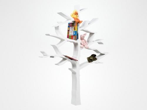 книжная полка-дерево