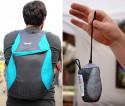 Компактный рюкзак, который помещается в кармане