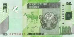 конголезский франк 1000а