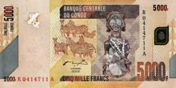 конголезский франк 5000а