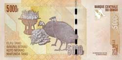 конголезский франк 5000р