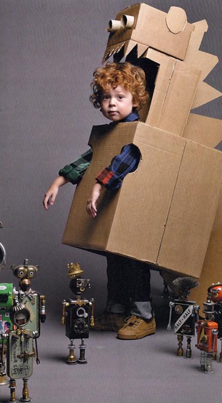 Вот во что может превратить пустую коробку фантазия