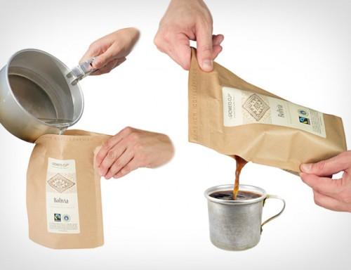 кофе в пакетике