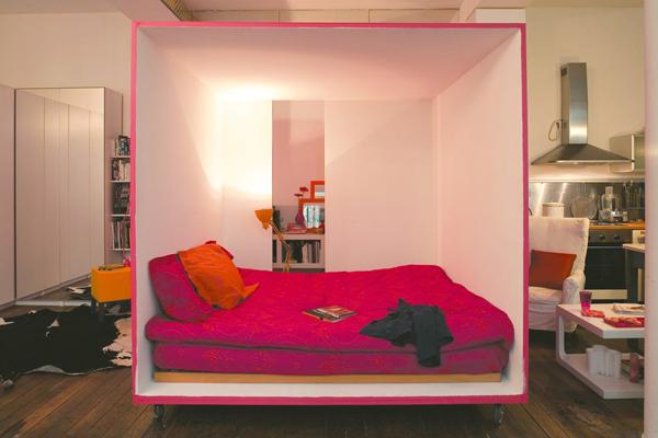куб кровать