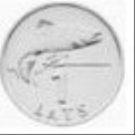 латвийский сантим 100а