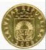 латвийский сантим 5р