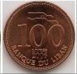 ливанский фунт 100а
