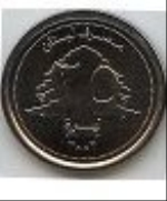 ливанский фунт 25р