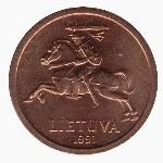 литовский цент 10р