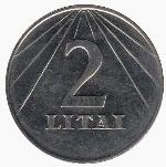 литовский цент 200а