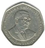 маврикийская рупия 10р