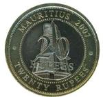 маврикийская рупия 20а