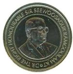 маврикийская рупия 20р