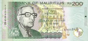 маврикийская рупия 200а