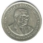маврикийская рупия 5р