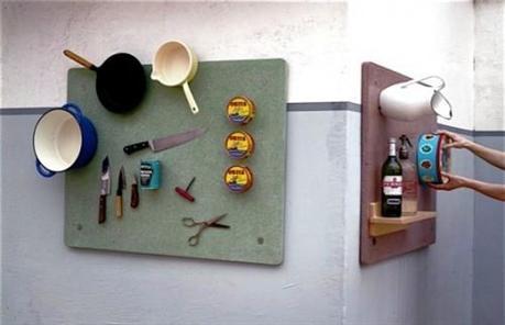 магнитная панель на кухню