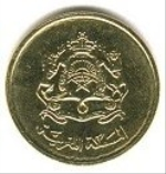 марокканский сантим 20р