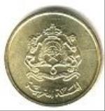 марокканский сантим 5р