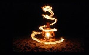 Фигуры из огня