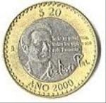 мексиканский песо 20а