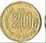 мексиканский сентаво 20а