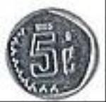 мексиканский сентаво 5а