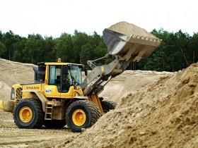 Песок - одним из самых востребованных материалов для строительства