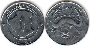 монета алжира 1 динар