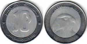 монета алжира 10 динаров