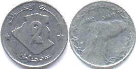 монета алжира 2 динара