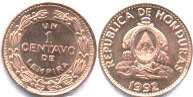монета гондураса 1 сентаво