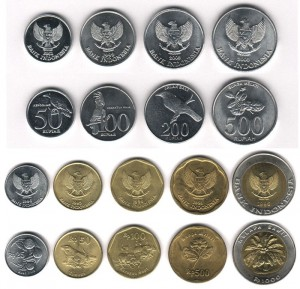 монеты индонезийск рупия