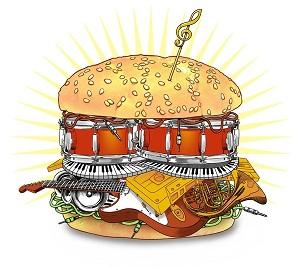 музыкальный бургер