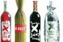 Дорогой алкоголь в необычном оформлении
