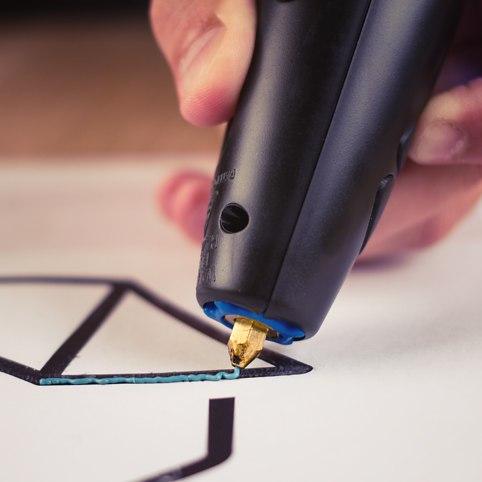 необычная ручка 3d