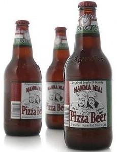 необычное пиво-пицца