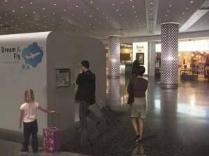 необычный отель в аэропорту