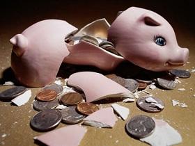 нет денег в банке
