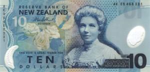 новозеландский доллар 10а