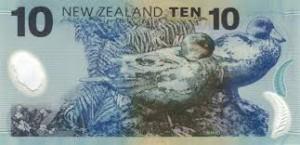 новозеландский доллар 10р
