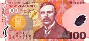 новозеландский доллар 100а
